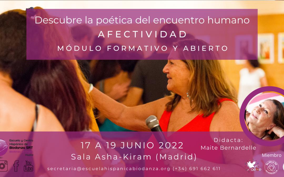 """Módulo formativo y Abierto: """"Afectividad"""" con Maite Bernardelle"""