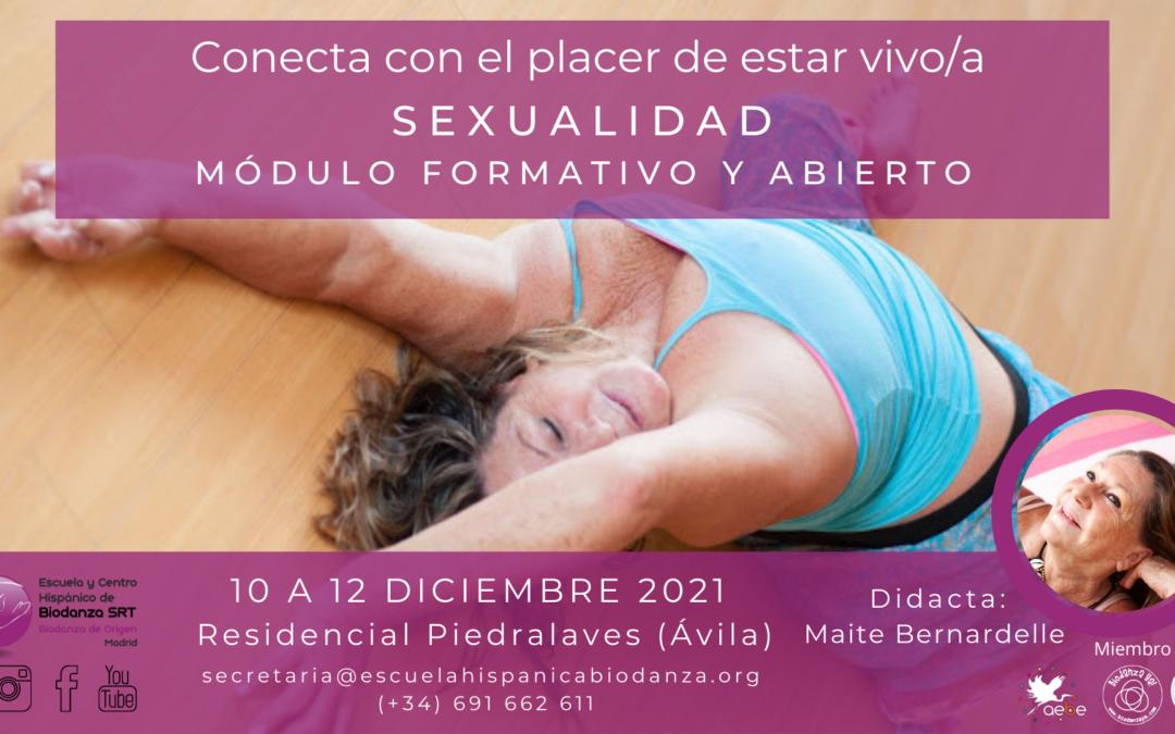 """Módulo formativo y Abierto: """"Sexualidad"""" con Maite Bernardelle"""